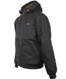 Iriedaily Dock36 Hemp Jacket Black Anthra