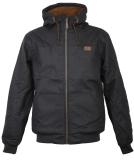 Iriedaily Dock36 Hemp Jacket Black Anthra S