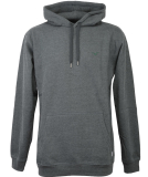Cleptomanicx Ligull Hooded Pullover Heather Scarab Green