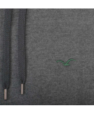 Cleptomanicx Ligull Hooded Pullover Heather Scarab Green M