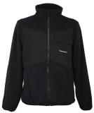 Cleptomanicx Fisher Fleece All Season Jacket Black schwarz