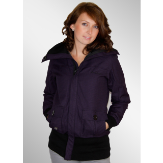 Iriedaily Long Cut Shep Jacke dark purple S