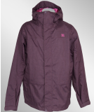 DC Summit Mens 5K Outerwear Jacket Plum
