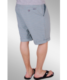 Iriedaily Golfer Plaid Short bluegrey 32