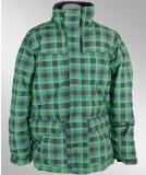 Bench Omar Jacke schwarz grün
