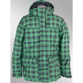 Bench Omar Jacke schwarz grün S