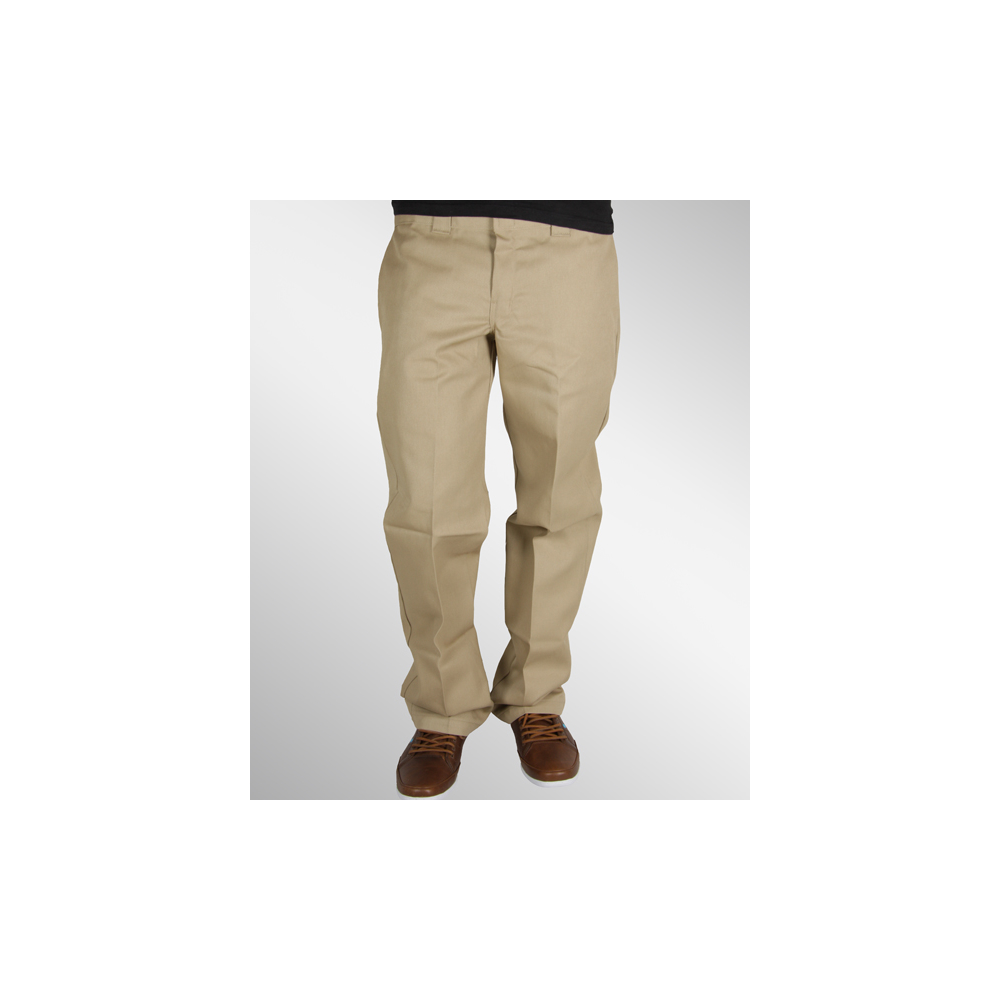 dickies 873 slim straight work pant hose khaki 47 90. Black Bedroom Furniture Sets. Home Design Ideas