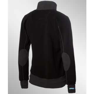 Shisha Lead Sweatjacket Black Anthracite