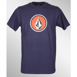 Volcom Pure Fun T-Shirt Midnight Blue