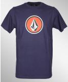 Volcom Pure Fun T-Shirt Midnight Blue