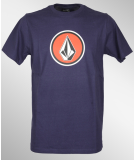 Volcom Pure Fun T-Shirt Midnight Blue L