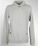 Volcom Shintaro Shawl Neck Pullover Heather Grey M