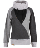 Shisha Hooded Düün Girls Pullover Dark Ash Black XL