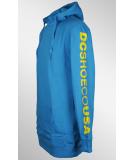 DC DCSHOECOUSA Hooded Pullover Blue Jay S