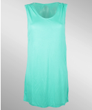 Volcom Stone Only Tee Dress Bright Turquoise