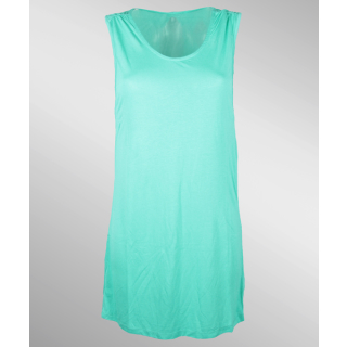 Volcom Stone Only Tee Dress Bright Turquoise L
