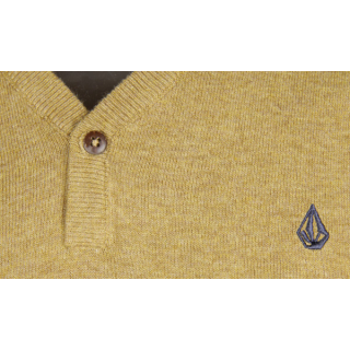 Volcom Votel Sweater Pullover Bronze M