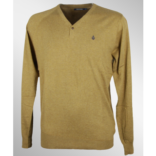 Volcom Votel Sweater Pullover Bronze L