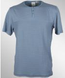 Volcom Cypress Crew Henley SS Shirt Camper Blue