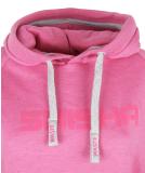 Shisha Hooded Classic Girls Pullover Pink Ash