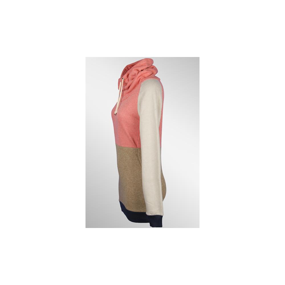 supremebeing extend pullover pink olive 43 90. Black Bedroom Furniture Sets. Home Design Ideas