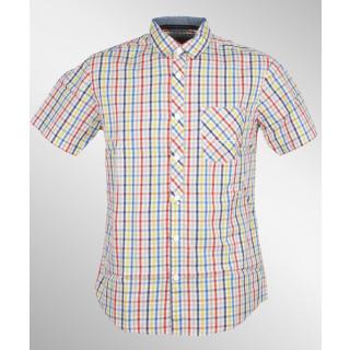 Bench Pea Pod Hemd Shirt Firey Red S