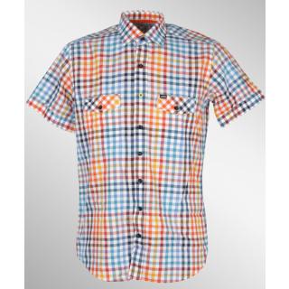 Jn Joy Shirt 02 Red Hemd Checkers