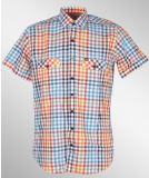 Jn Joy Shirt 02 Red Hemd Checkers