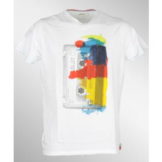 Jn Joy Tee 07 Retro T-Shirt White