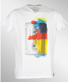 Jn Joy Tee 07 Retro T-Shirt White  S