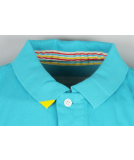 Jn Joy Smart Polo Shirt Scuba Blazing