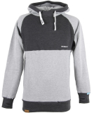 Shisha Hooded Basic Boys Pullover Ash Anthracite